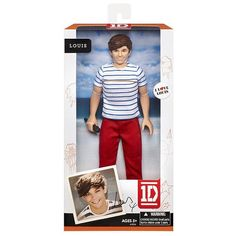 One Direction - What Makes You Beautiful Doll Collection, Louis
