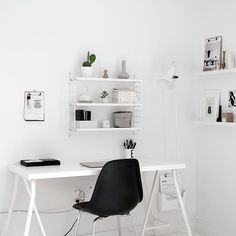 Simplify Your Life With Minimalist Décor Home Office Storage, Home Office Design, Home Office Decor, Workspace Design, Home Decor, Home Study Rooms, Study Room Decor, Bedroom Decor, Home Office Furniture