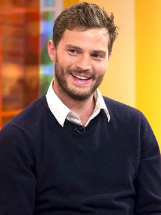 Jamie Dornan. He's just absolutely, ridiculously good looking!!!!!! {Love him.}