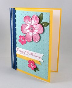 Birthday Greeting Card Birthday Card Happy by SnippetsByDesign