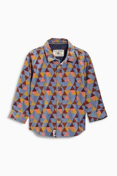 e9cc3111152 Buy Boys shirts Youngerboys Youngerboys Print Print Shirts from the Next UK  online shop