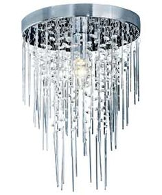 Buy Inspire Riga Glass Beads And Rods Ceiling Light At Argos Co Uk