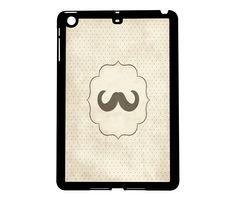 Protective iPad Mini Case Mustache. $21.00, via Etsy.
