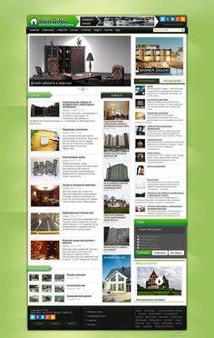 Building для DLE #templates #website #шаблон #сайт #web