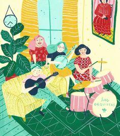 illustrations by Josefina Schargorodsky, on… via Tumblr