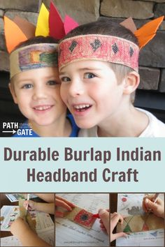 """Indian Headbands are a perfect craft this time of year, not only to celebrate our Native American friends on Thanksgiving, but also because kids naturally gravitate towards playing """"Indians"""" in make-believe play. These Indian headbands are very similar to the basic paper versions, but are much more durable and excellent for playing dress up on […]"""