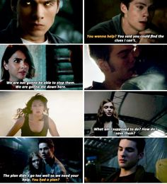 "#TeenWolf #Season5B - ""We're gonna go to school, and we're gonna pretend like we're normal teenagers, but at night… we're gonna be fighting for our lives."""