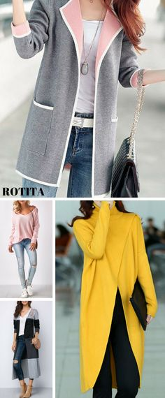 Ladies fashion sweaters cardigans ed819e7af6e