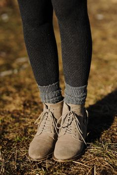 A pair of Gap tights as featured on the blog Sidewalk ...
