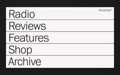 fm is a conceptual site for a radio / mixtape brand. Portfolio Website, Web Portfolio, Web Layout, Layout Design, Book Design, App Design, App Video, Creer Un Site Web, Minimal Web Design