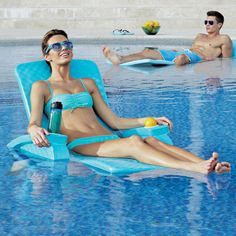 Super-soft® Fully Adjustable Pool Recliner