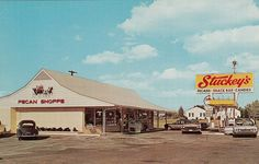 An old Stuckey's! This is how they looked on my family's road trips in the 60's and 70's.