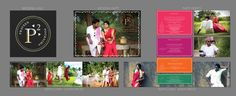 End-to-end print designs done for a good friend's wedding. http://www.praveenandpoornima.com/ #WeddingCreative #Wedding #Design #WeddingInvite #WeddingWebsite