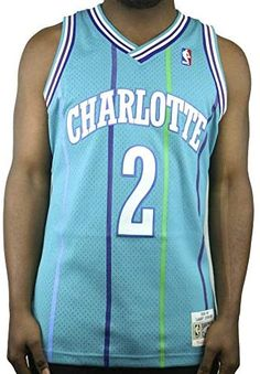 Mitchell & Ness Larry Johnson 1992-93 Charlotte Hornets Teal Swingman Jersey Shopping World, Online Shopping Stores, Larry Johnson, Nba Merchandise, Nba Store, Charlotte Hornets, Teal, Sports, Fashion
