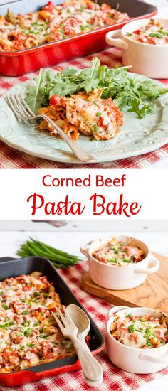 Delicious, easy corned beef pasta bake can be made ahead of time, kept in the fridge or freezer and then baked for a family friendly winter warming dish. Beef Recipes Uk, Beef Recipes For Dinner, Easy Pasta Recipes, Vegetarian Dinners, Noodle Recipes, Delicious Recipes, Yummy Food, Healthy Recipes, Canned Corned Beef Recipe
