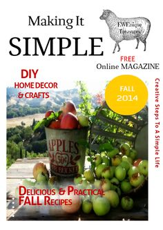 Free Online Magazine that showcases Bloggers Recipes, DIYs, Home Decor.Lifestyles and more you can visit live websites from the magazine of all the bloggers who co