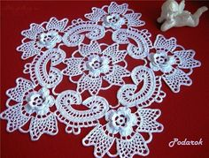 Gorgeous Irish Crochet Doily Russian site with diagrams for many beautiful patterns!