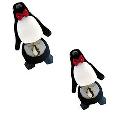 PENGUIN Crystal Necklace in Penguin Gift Box (2 Pack)