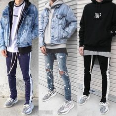 38 Stylish Men Urban Fashion Ideas Suitable For This Summer Getting ahead of the others necessitate a fundamental knowledge on men's fashion. Urban Fashion, Boy Fashion, Mens Fashion, Fashion Ideas, Streetwear Mode, Streetwear Fashion, Streetwear Jeans, Streetwear Summer, Male Clothes