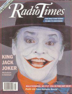 Radio Times Cover 1989-06-10 Jack Nicholson