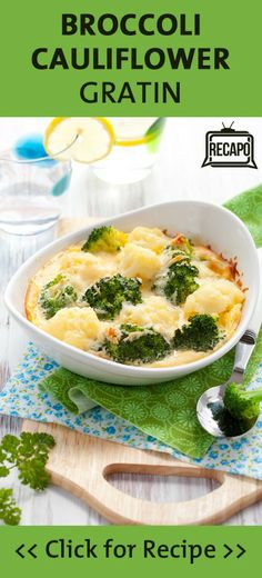 The Chew's Clinton Kelly and Carla Hall faced off in a side dish battle. Clinton's Spicy Broccoli & Cauliflower Gratin recipe was the winner, see why for yourself!