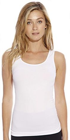 dc578c402d2 CS32013SMWHT Christian Siriano New York Ladies Tank Tops     Want  additional info  Click