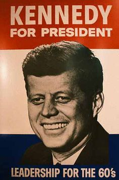"Cartel electoral ""Kennedy for President"""