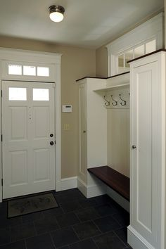 mud room designs | Mudroom Ideas from Peter Sachs & Wife Who Dreams of Mudroom | Newton ...