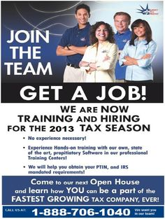 Join the team  GET A JOB!