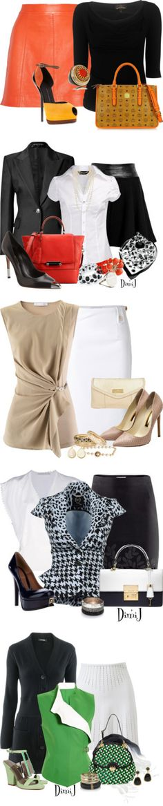 "Chic Professional Woman Work Outfit. ""Working 9-5"" by zuckie1 on Polyvore"