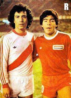 Cesar Cueto & Diego Maradona