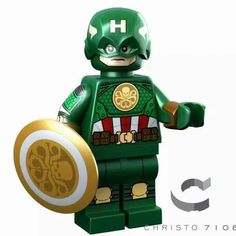HeroBloks is an ambitious project aimed at cataloging every LEGO, compatible, bootleg and custom pop culture minifigure. Use it to catalogue your minifigure collection. Hydra Captain America, Captain Hydra, Lego Spiderman, Lego Minecraft, Lego Disney, Martin Freeman, Lego Star Wars, Legos, Panther