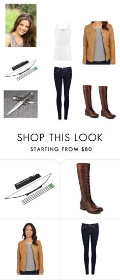 """""""Untitled #166"""" by girlwhosparkles ❤ liked on Polyvore featuring Frye, Lucky Brand, rag & bone/JEAN and Vince"""