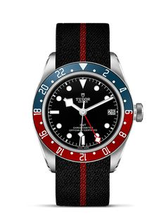 Discover the new TUDOR Black Bay GMT watch presented at Baselworld 2018, revisited with a new GMT function that allows reading of the time in three time zones.