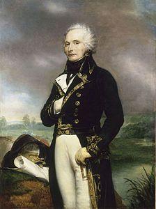 l ALEXANDRE FRANCOIS MARIE DE BEAUHARNAIS (1760-1794).GENERALE FRANCESE.DOPO AVER PARTECIPAALLA GUERRA D'INDIPENDENZA AMERICANA FU DEPUTATO AGLI STATI GENERALI DEL 1789,CONVOCATI DA LUIGIXVI.ADERI'ALLA RIVOLUZIONE E FU 2 VOLTE PRESIDENTE DELLA ASS.COSTITUENTE.NEL 1793 EBBE IL COMANDO DELL'ARMATA DEL RENO.SI DIMISE IN BASE ALLA LEGGE CHE ESCLUDEVA I NOBILI DALLA CARRIERA  MILITARE.ACCUSATO DELLA CAPITOLAZIONE DI MAGONZA FU PROCESSATO E CONDANNATO A MORTE.  SPOSA GIUSEPPINA TASCHER DE LA…