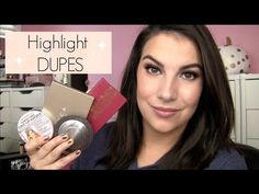 4 DUPES for High-End Highlights! - YouTube