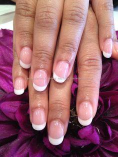 Gel overlays on natural nails