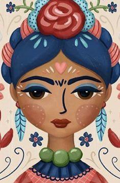 Arte Marilyn Monroe, Art Sketches, Art Drawings, Frida Paintings, Frida Art, Mexican Art, Skull Art, Face Art, Art Girl