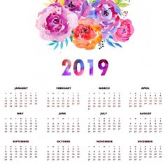Image calendar 2019 png 248329 in Kyzkinapapa's images album November Printable Calendar, Free Printable Calendar Templates, Cute Calendar, 2019 Calendar, Watercolor Background, Watercolor Flowers, Free Calendar Maker, Adobe Photoshop, Banners