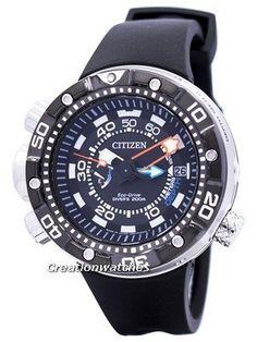 Citizen Promaster Aqualand Eco-Drive Diver s BN2024-05E Men s Watch Sale!  Up to 7e563b9d31