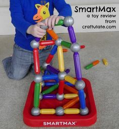 SmartMax is a bright and durable magnetic building toy that your kids will love!