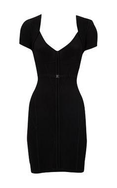 A black karen millen special Corset knit dress!!!