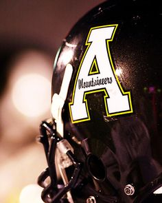Appalachian State Mountaineer Football Helmet Picture at Appalachian State Mountaineer Photos