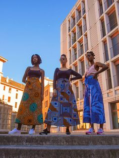 Colorful, elegant and made to fit all you queens. A must have for the upcoming sunny season! Have you seen all the designs we have for you? Head straight to our website! Ghana, Ethical Fashion Brands, African Textiles, Must Haves, Sunnies, This Is Us, Seasons, Maxi Skirts, Elegant