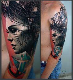 A Chat With Trash Style Tattoo Artist Timur Lysenko | Tattoodo