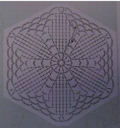 Luty Artes Crochet: square