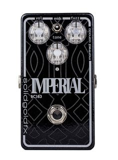 Although inspired by the classic 4-stage muff circuits of yesterday the Imperial BC183 is more than just another Big Muff clone. Built around a fine tuned high-impedance JFET preamp the Imperial BC183