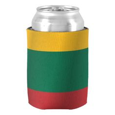 #country - #Flag of Lithuania Can Cooler