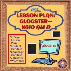 Here is an activity utilizing Glogster to give students an opportunity to introduce themselves to the class and think about their goals for the school year and beyond; students learn how to use Glogster as a result and also develop their writing skills. $