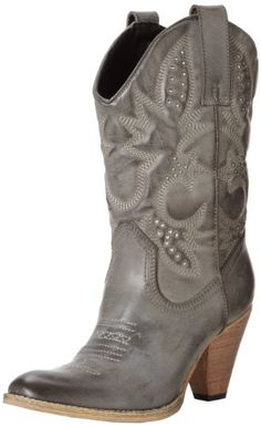 Volatile Women's Denver Boot -  	     	              	Price: $  79.99             	View Available Sizes & Colors (Prices May Vary)        	Buy It Now      We love the shading and slight distressing on the faux-leather upper of this classic cowgirl boot - it's got a definite retro feel and yet isn't overdone - the Denver...